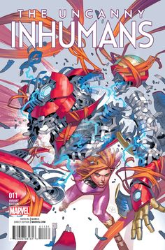 Marvel Uncanny Inhumans Y. Putri VariantKhoi Pham Variant *Estimated to be in NM/Above Condition Marvel Comics Superheroes, Marvel Characters, Comic Book Layout, Book Layouts, Comic Art Community, The Uncanny, Comic Covers, Comic Character