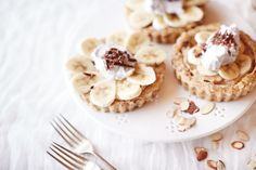 No bake banoffee tart
