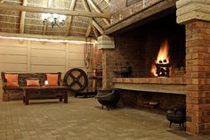 Inside Braai room ideas - Google Search