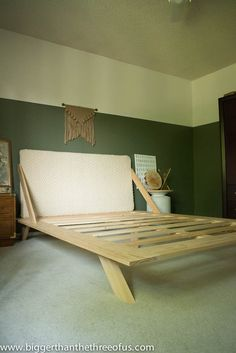 Make Your Own CB2-Inspired Bed For A Fraction Of The Price  http://www.hometalk.com/l/Vhh