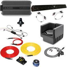 Polaris Ranger XP 09-12 - Full System - JL Audio StealthBox & MX Amp, WetSounds sound bar, Bluetooth Receiver + Wires