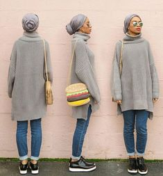 Trendy Ideas For Style Hijab Simple Classy Turban Outfit, Turban Style, Hijab Outfit, Turban Hijab, Modest Wear, Modest Dresses, Hijabs, Muslim Fashion, Modest Fashion