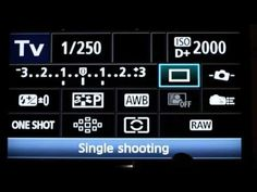 Canon 60D Info Screen Learn easy fast DSLR Tips Tricks