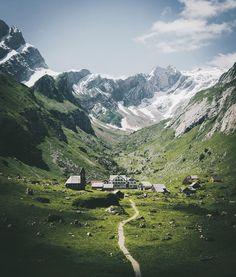 Alpstein region, Switzerland