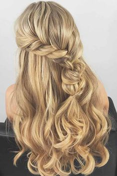 Easy hairstyles for long hair are an important part of our beauty routine on Valentine's Day. And when it comes to getting ready for some occasion, the heart starts beating faster. These easy hairstyles are a real deal. And due to its beauty, you will want to take selfies with such hairstyle all the time. #hairstyles #longhairstyles