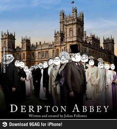 Derpton Abbey!