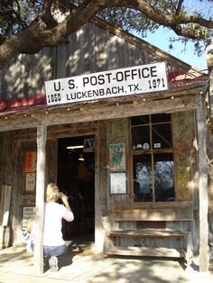 Luckenbach, Texas  been there - loved it!
