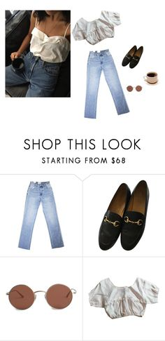 """""""Gotta Serve Somebody..."""" by anouk-rocher ❤ liked on Polyvore featuring Gucci and The Row"""