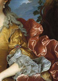 Rose Briar - daughterofchaos: Portrait of Barbara of Portugal, 1729, .