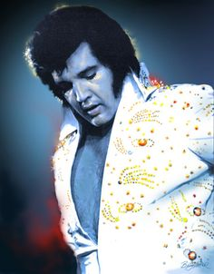 Amazing Grace >> This is the era (early 80's) when I saw Elvis in Las Vegas...front row seats......amazing indeed.  Should I pin this in Music?  Inspirational?  Special Folks?  Movies and Stars?  Yes...all of the above is appropriate.