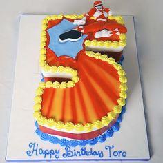 POWER RANGERS CAKE SP3487 - Panari Cakes