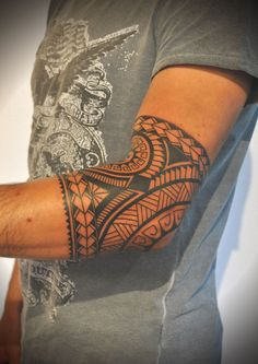 polynesian inspired tattoo | Simon Tattoo | Tattoo Studio in Teufen AR