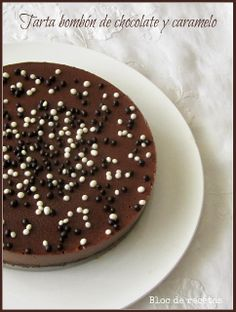 Tarta de Bombón de Chocolate y Caramelo (Thermomix)