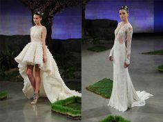 Lacollezionediabiti da sposa2016presentata dal brand Ines Di Santosi popola di una vasta gamma di modelli dall'estetica ricercata, all'insegna di uno stile principesco ottenuto attraverso la ...
