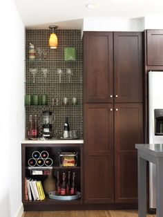 alcove lighting ideas. dark wood shakers style alcove lighting ideas