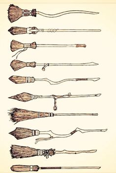 Harry Potter Broomsticks                                                                                                                                                                                 More