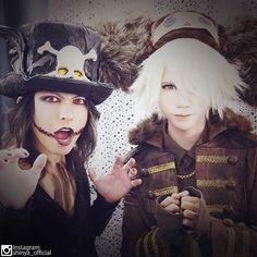 BackStage Day 1: #HYDE with Shinya(DIR EN GREY) #VAMPS #VAMPSHalloweenParty2015 MAKUHARI (October 23, 2015)
