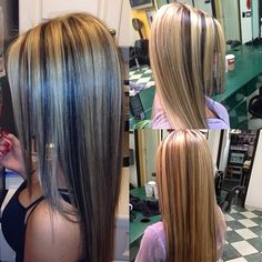 HAIR :: Long Straight Hair, Highlights - by hairbyroy on Instagr.in