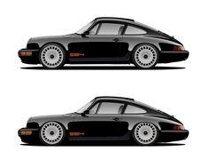 Porsche 911 964 #porsche