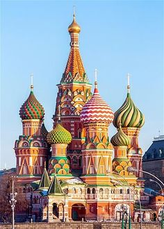 Basil's Cathedral, Russia (© Getty Images Russian Architecture, Beautiful Architecture, Beautiful Buildings, Beautiful Places, Architecture Byzantine, Places Around The World, Travel Around The World, Around The Worlds, Places To Travel