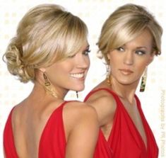 Pick my updo for friend's wedding tomorrow! :  wedding Wedding Hairstyles For Bridesmaids Updos 1