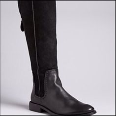 Splendid riding boots - Adorable lining!!! Suede and leather riding boots with fair isle jersey lining and full back zip are a great addition to your fall wardrobe! Splendid Shoes