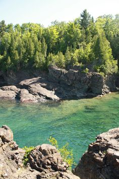 Lake Superior, Marquette Michigan... i just can't wait for summer hikes, runs, & swims in and along the lake <3
