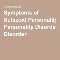 an example of this is schizoid Schizoid personality disorder  seinfeld provides an example of a schizoid woman who would covertly attend various bars to meet men for the purposes of gaining.