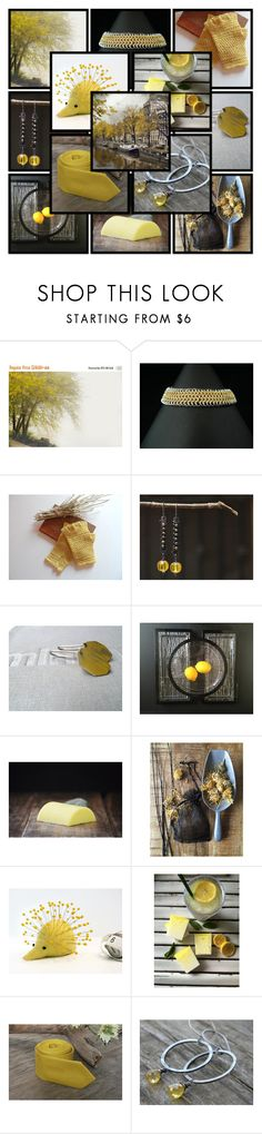 """When Life Gives You Lemons..."" by andreadawn1 ❤ liked on Polyvore"