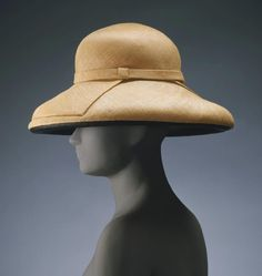 b18f81eee6f Woman s hat designed by James Galanos