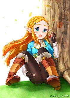 Princesa Zelda Arte