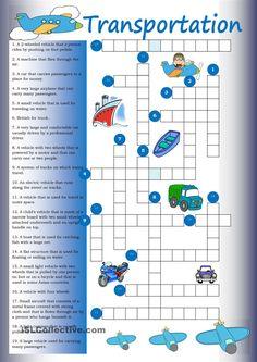 Crossword: Transportation