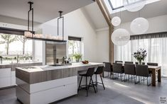 Design interieur, stephen versteegh, the art of living Warehouse Living, Interior Architecture, Interior Design, Living Room White, Cozy Living, White Countertops, Küchen Design, Kitchen Interior, New Homes