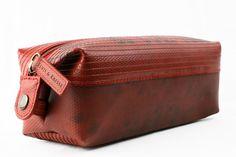 Elvis & Kresse Medium Wash Bag at Supernomad - £52.50. Re-engineered from London Fire Brigade fire hoses.