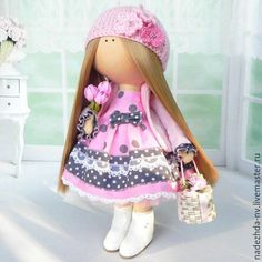 Купить Интерьерная кукла тильда - комбинированный, кукла ручной работы, кукла, кукла в подарок