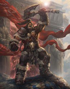World of Warcraft Boosting Services Warcraft Heroes, Warcraft Orc, World Of Warcraft Game, Dark Fantasy, Fantasy Art, Grommash Hellscream, Paladin, Character Inspiration, Character Art