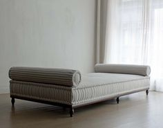 1340 BESPOKE DAYBED WITH BOLSTERS
