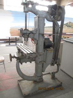 gigantic drill press. Wheels museum Albuquerque, NM.