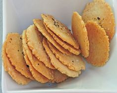"""ALMOND CRISPS """"Your health and likely your lifespan will be determined by the proportion of fat versus sugar you burn over a lifetime.""""--Dr. Ron Rosedale When Dr. Andreas Eenfeldt (www.dietdoctor.com) asked his followers what one food they missed the most while following his low-carb/high-fat regimen, bread topped the list by a wide margin! Beer, often called """"liquid bread,"""" came in third, pizza and pasta, which are just bread by other names, took fourth and fifth place and chi..."""
