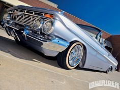 1961 Chevy Impala, Chevy Chevelle, Chevrolet Impala, Rat Rod Cars, Lowrider Bike, Exotic Cars, Cars And Motorcycles, Cool Cars, Dream Cars