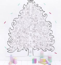 Here are the Interesting Christmas Tree Coloring Page. This post about Interesting Christmas Tree Coloring Page was posted under the Coloring Pages . Christmas Tree Printable, Printable Christmas Coloring Pages, Free Christmas Printables, Noel Christmas, Free Printable Coloring Pages, Christmas Activities, Christmas Crafts, Christmas Lights, Christmas Houses