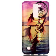 Amazon.com: LG K7 Case Cover ,Stingna Attractive Dreamcatcher... (96 ZAR) ❤ liked on Polyvore featuring accessories and tech accessories