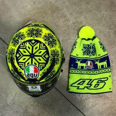 AGV Corsa Gp Winter Test VR46 Valentino #MotoGP #Riders #AGV #Helmet