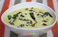 Kalan is a curd based raw plantain - yam curry. Here you can try a kalan recipe which is commonly served across Kerala.