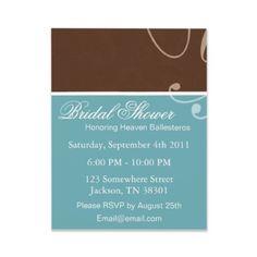 #bridal shower invites #wedding