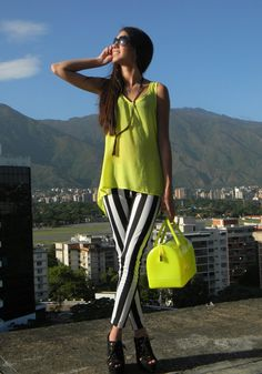 Yellow Outfit for Summer