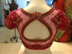 Blouse Pattu Saree Blouse Designs, Blouse Designs Silk, Designer Blouse Patterns, Bridal Blouse Designs, Hand Work Blouse Design, Simple Blouse Designs, Stylish Blouse Design, Sleeves Designs For Dresses, Sarees