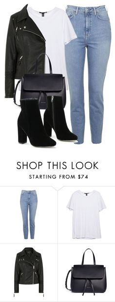 """""""Untitled #6381"""" by laurenmboot ❤ liked on Polyvore featuring Topshop and Mansur Gavriel"""