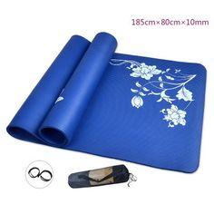 Widen & Thicknening Yoga Mat For Beginners Anti Slip sport mat non slip… #yoga #fitness #workout #health #yogapants #meditation