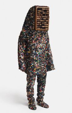 Soundsuit (2009) by Nick Cave (c)  Photo taken from Jack Shaihman Gallery